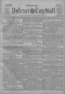 Posener Tageblatt 1911.01.12 Jg.50 Nr20