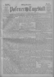 Posener Tageblatt 1911.01.17 Jg.50 Nr28