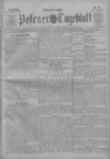 Posener Tageblatt 1911.01.21 Jg.50 Nr36