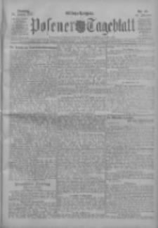 Posener Tageblatt 1911.01.24 Jg.50 Nr40