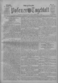 Posener Tageblatt 1911.01.25 Jg.50 Nr42