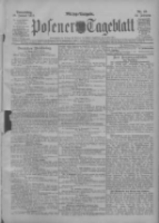 Posener Tageblatt 1911.01.26 Jg.50 Nr44