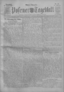 Posener Tageblatt 1911.01.28 Jg.50 Nr48