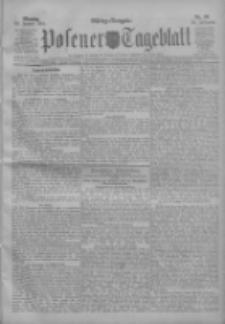 Posener Tageblatt 1911.01.30 Jg.50 Nr50