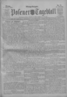 Posener Tageblatt 1911.02.13 Jg.50 Nr74