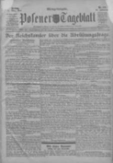 Posener Tageblatt 1911.03.31 Jg.50 Nr154