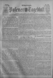 Posener Tageblatt 1911.05.01 Jg.50 Nr202