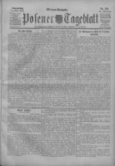 Posener Tageblatt 1904.05.05 Jg.43 Nr209
