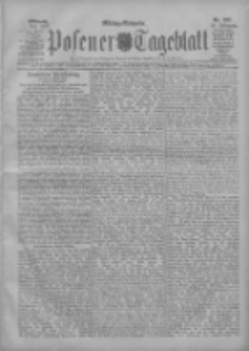 Posener Tageblatt 1907.05.01 Jg.46 Nr202