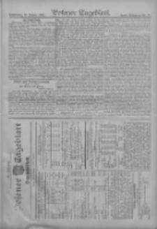 Posener Tageblatt. Handelsblatt 1907.01.09 Jg.46