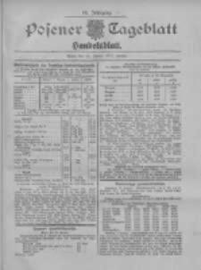 Posener Tageblatt. Handelsblatt 1907.01.10 Jg.46