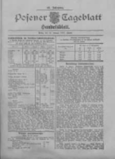 Posener Tageblatt. Handelsblatt 1907.01.22 Jg.46