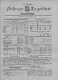 Posener Tageblatt. Handelsblatt 1907.01.25 Jg.46