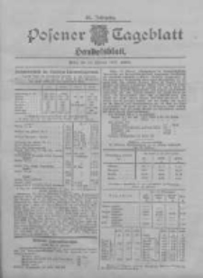 Posener Tageblatt. Handelsblatt 1907.02.18 Jg.46
