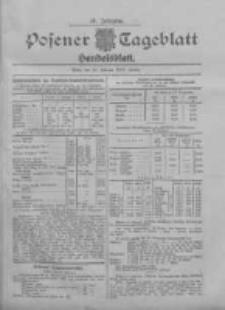 Posener Tageblatt. Handelsblatt 1907.02.20 Jg.46