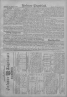 Posener Tageblatt. Handelsblatt 1907.02.19 Jg.46