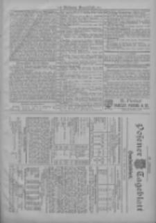 Posener Tageblatt. Handelsblatt 1907.03.28 Jg.46