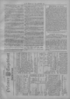 Posener Tageblatt. Handelsblatt 1907.05.11 Jg.46
