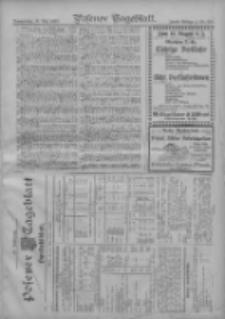 Posener Tageblatt. Handelsblatt 1907.05.15 Jg.46