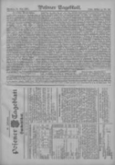 Posener Tageblatt. Handelsblatt 1907.05.25 Jg.46