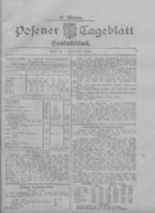 Posener Tageblatt. Handelsblatt 1907.06.01 Jg.46