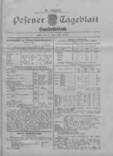 Posener Tageblatt. Handelsblatt 1907.06.21 Jg.46