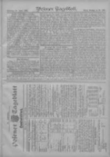 Posener Tageblatt. Handelsblatt 1907.06.22 Jg.46