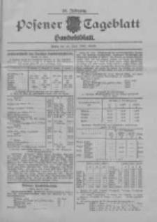 Posener Tageblatt. Handelsblatt 1907.06.24 Jg.46