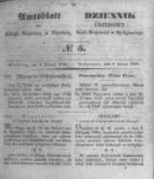 Amtsblatt der Königlichen Preussischen Regierung zu Bromberg. 1849.02.02 No.5