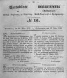 Amtsblatt der Königlichen Preussischen Regierung zu Bromberg. 1849.03.30 No.13