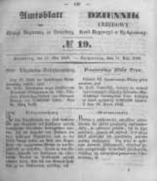 Amtsblatt der Königlichen Preussischen Regierung zu Bromberg. 1849.05.11 No.19