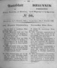 Amtsblatt der Königlichen Preussischen Regierung zu Bromberg. 1849.09.07 No.36