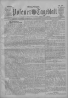 Posener Tageblatt 1907.08.13 Jg.46 Nr376