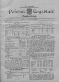 Posener Tageblatt. Handelsblatt 1907.07.09 Jg.46