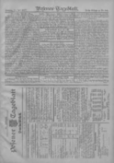 Posener Tageblatt. Handelsblatt 1907.07.13 Jg.46