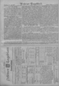 Posener Tageblatt. Handelsblatt 1907.07.22 Jg.46