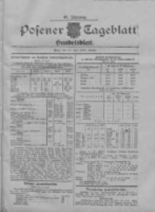 Posener Tageblatt. Handelsblatt 1907.07.24 Jg.46