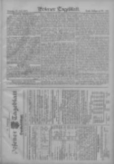 Posener Tageblatt. Handelsblatt 1907.07.27 Jg.46