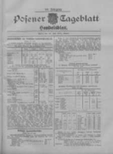 Posener Tageblatt. Handelsblatt 1907.07.29 Jg.46