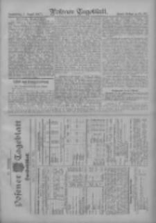 Posener Tageblatt. Handelsblatt 1907.07.31 Jg.46