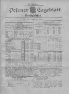 Posener Tageblatt. Handelsblatt 1907.08.02 Jg.46