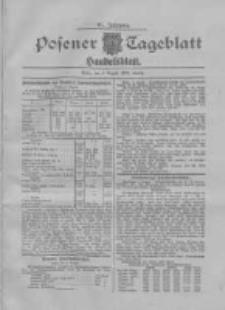 Posener Tageblatt. Handelsblatt 1907.08.03 Jg.46