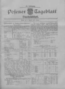 Posener Tageblatt. Handelsblatt 1907.08.05 Jg.46