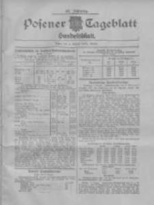 Posener Tageblatt. Handelsblatt 1907.08.06 Jg.46