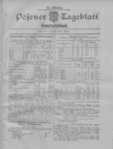 Posener Tageblatt. Handelsblatt 1907.08.07 Jg.46