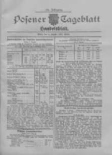 Posener Tageblatt. Handelsblatt 1907.08.08 Jg.46