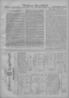 Posener Tageblatt. Handelsblatt 1907.08.12 Jg.46