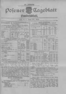 Posener Tageblatt. Handelsblatt 1907.08.14 Jg.46