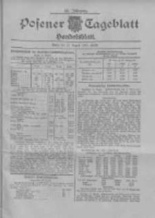 Posener Tageblatt. Handelsblatt 1907.08.15 Jg.46