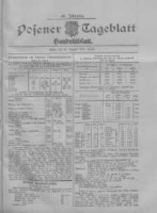 Posener Tageblatt. Handelsblatt 1907.08.16 Jg.46